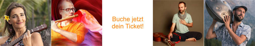 Vienna Spirit Gathering - Festival der Verbundenheit in Wien. Unsere Musiker - Teil2